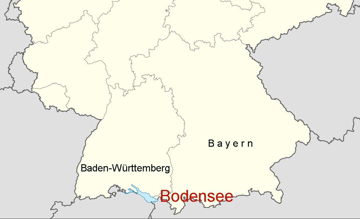 Deutschland Bodensee Karte Goudenelftal