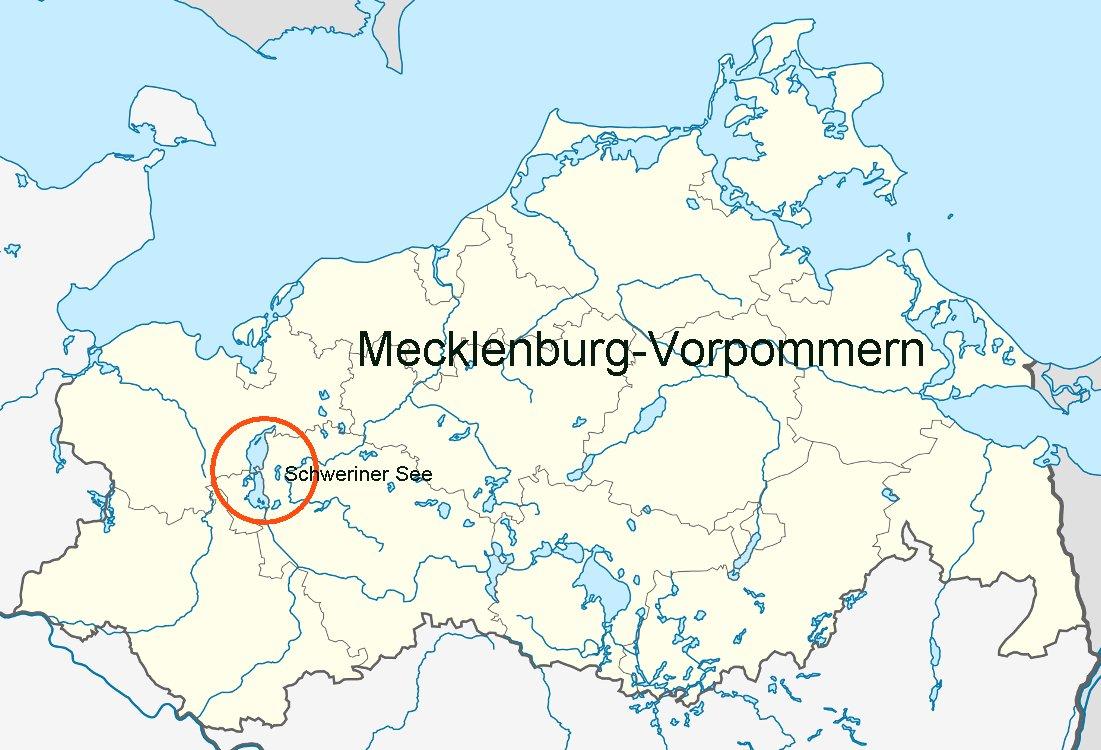 schwerin karte deutschland Online Hafenhandbuch Deutschland: Der Schweriner See