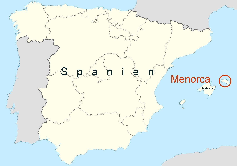 Insel Menorca Karte.Online Hafenhandbuch Spanien Insel Menorca Balearen Und